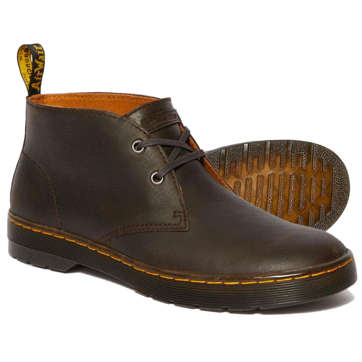 mens size 9 doc martens suede chukka boots