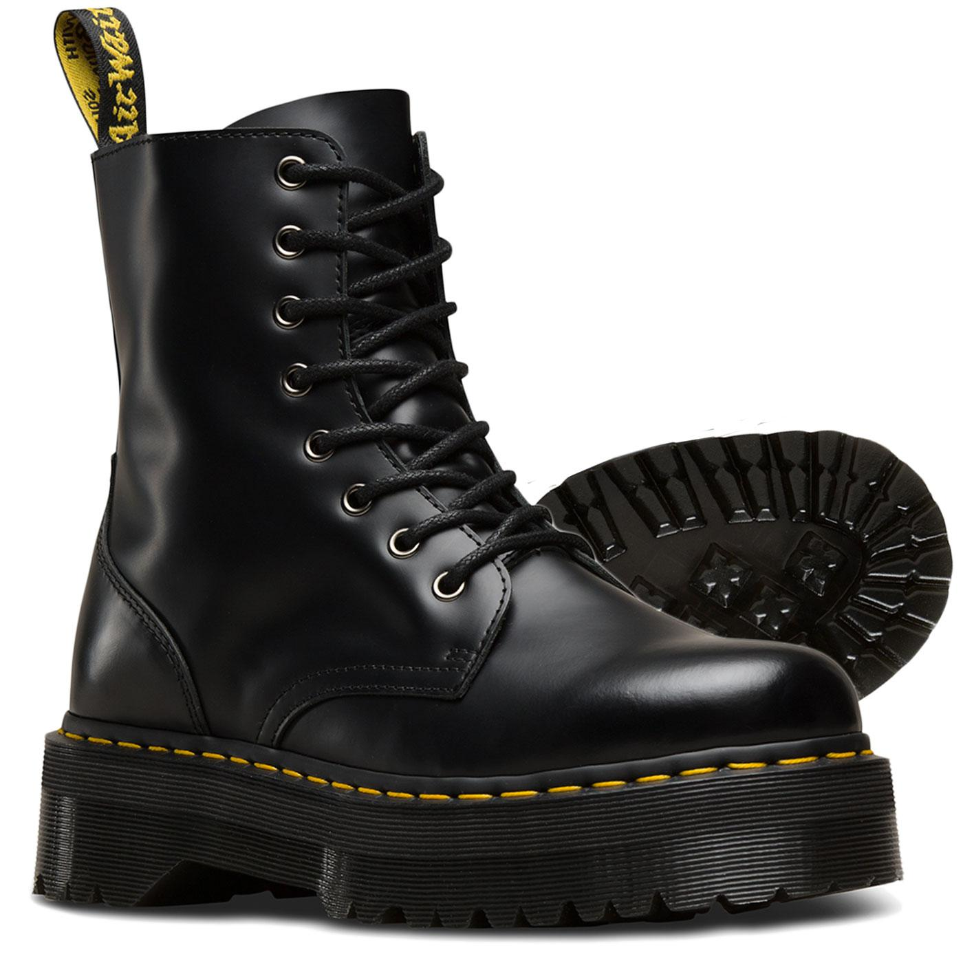 DR MARTENS 8 Eye Jadon Black 15265001 Original Classic