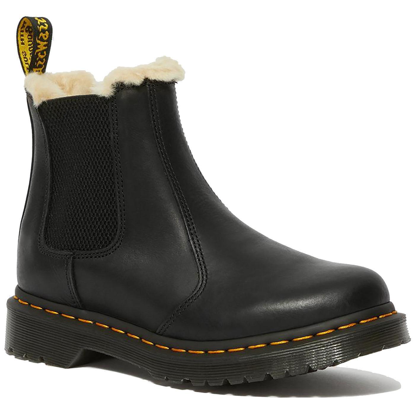 Leonore DR MARTENS Women's Faux Fur Lined Boots B