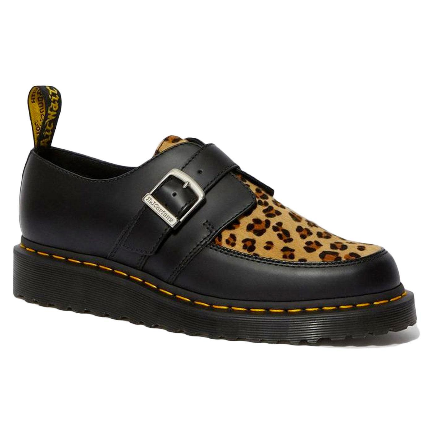 Ramsey Monk DR MARTENS Leopard Print Creeper Shoes