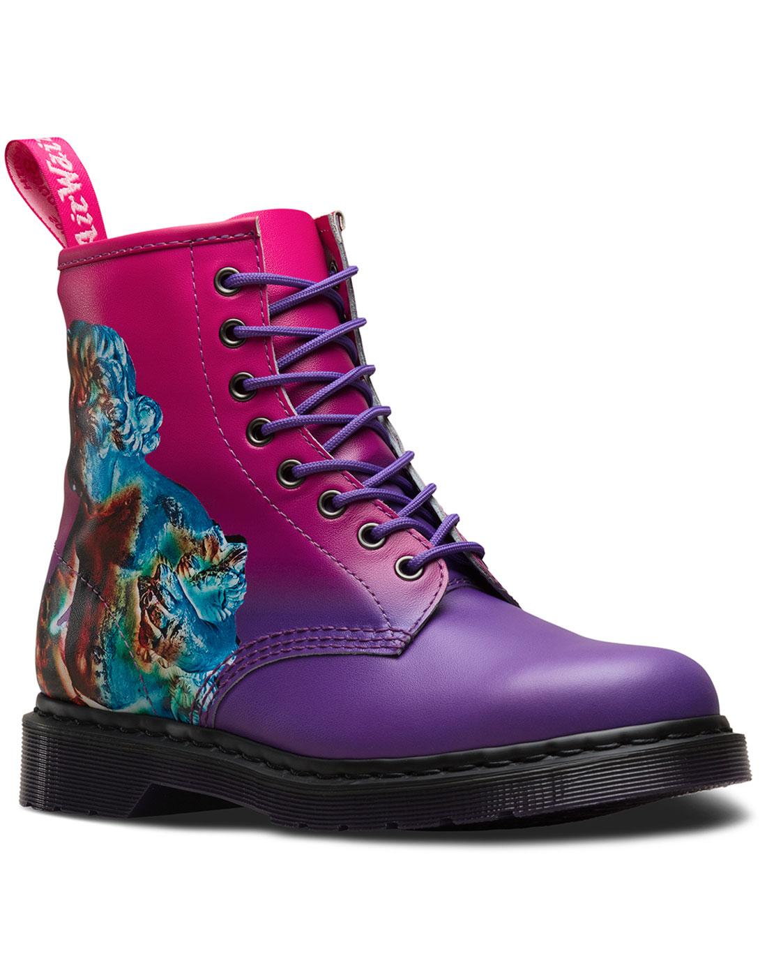 DR MARTENS x NEW ORDER 1460 Technique 80s Boots