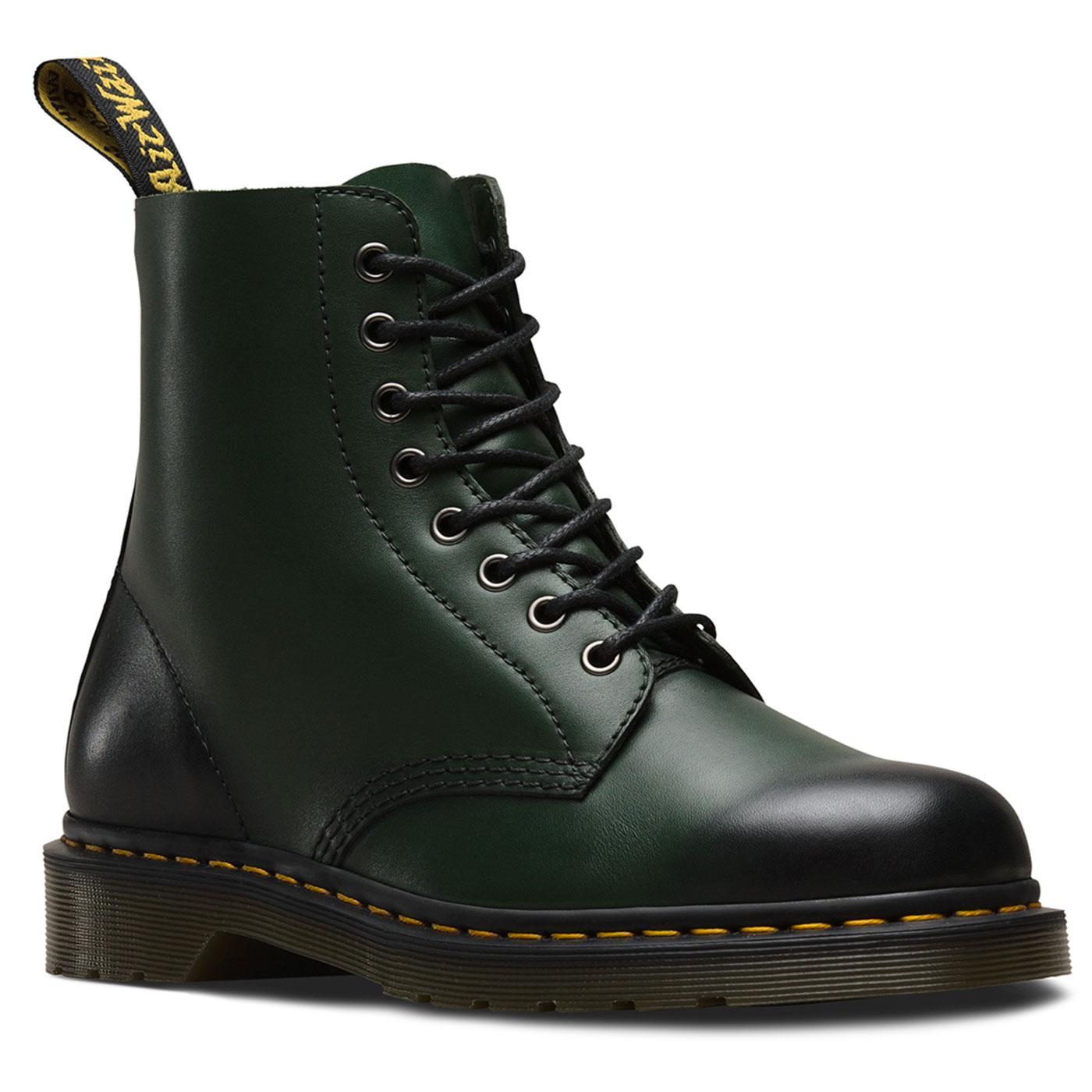 Pascal DR MARTENS Antique Temperley Boots Green
