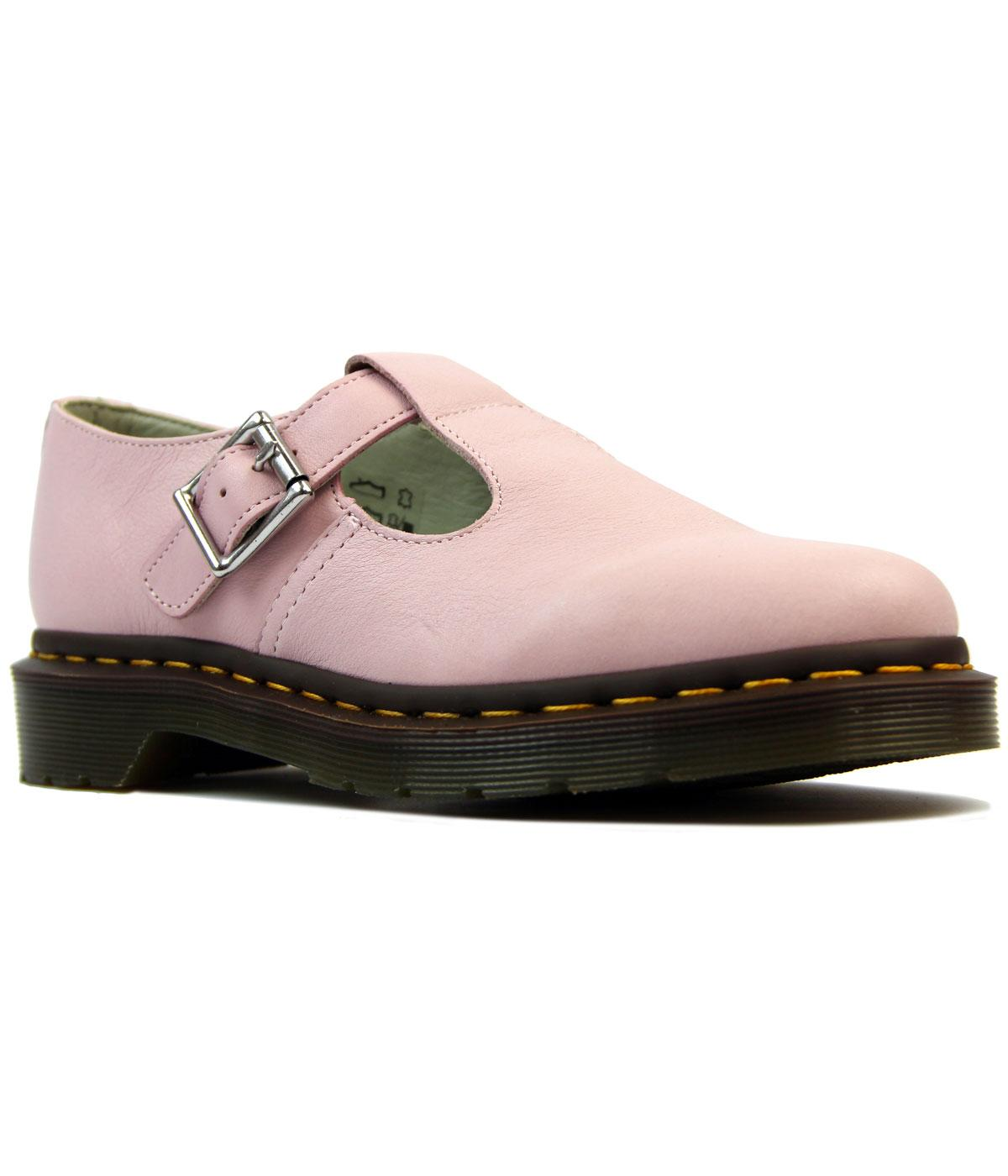 Polley DR MARTENS Retro 1960s T-Bar Buckle Shoes