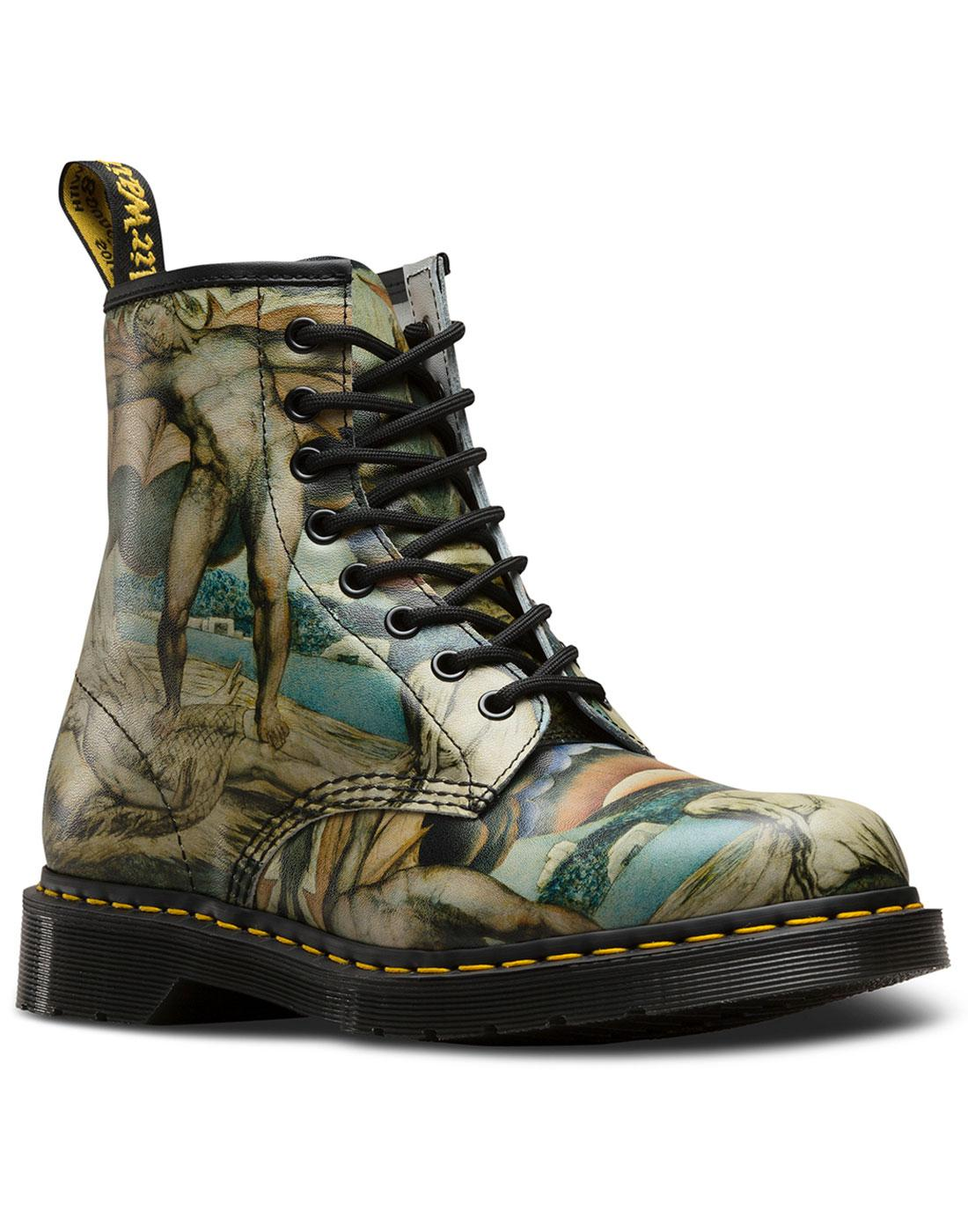 1460 William Blake DR MARTENS Retro 8 Eyelet Boots
