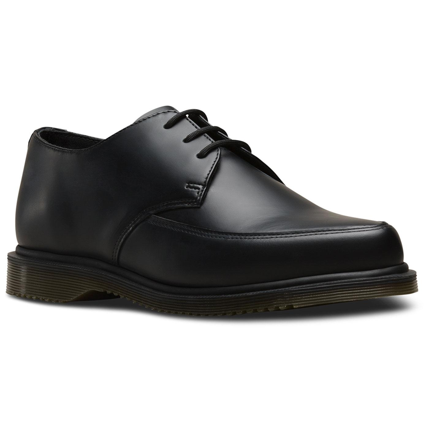 Willis DR MARTENS Mens Retro Smooth Creepers Black