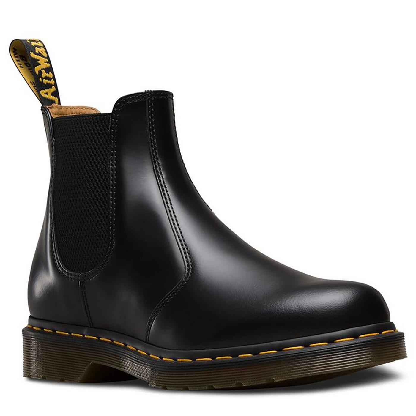 2976 YS DR MARTENS Womens Leather Chelsea Boots