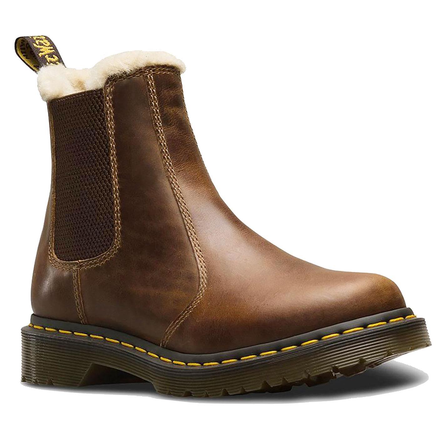 2976 Leonore DR MARTENS Women's Fur Lined Boots