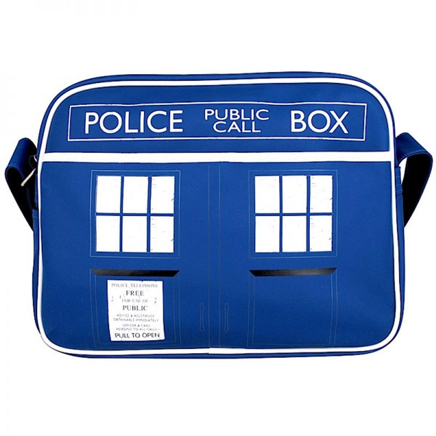 Doctor Who Tardis Police Box Retro Shoulder Bag
