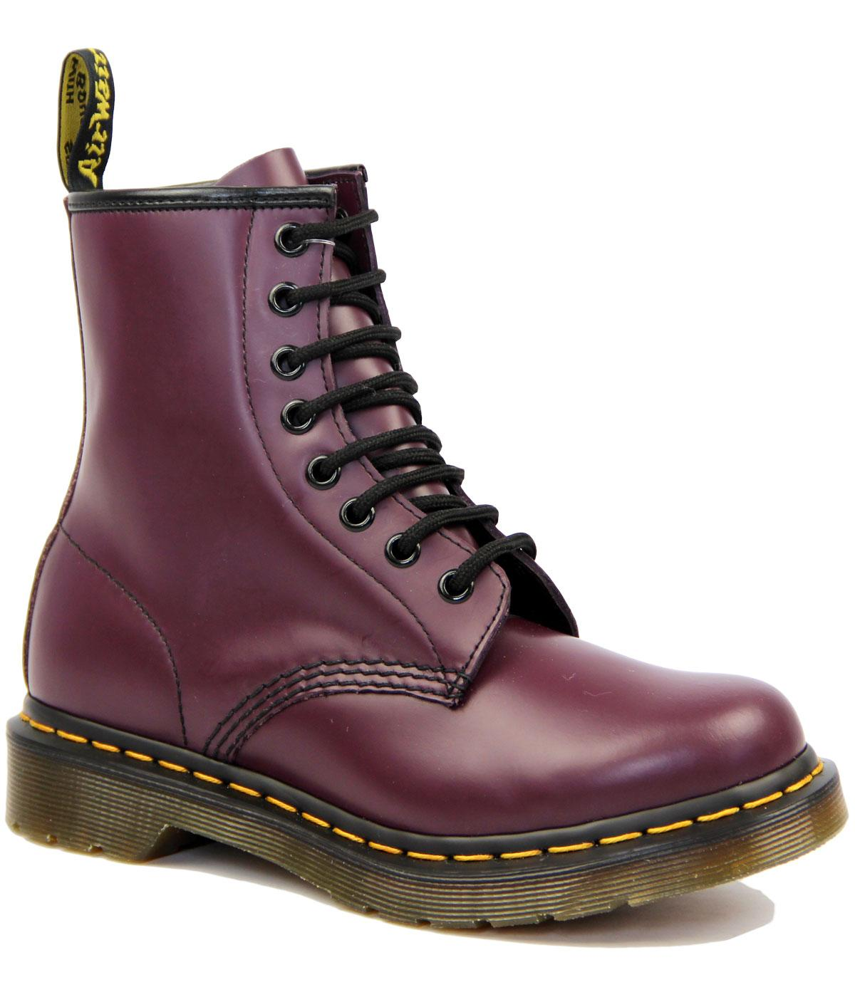 1460 W DR MARTENS Retro 60's Smooth Purple Boots
