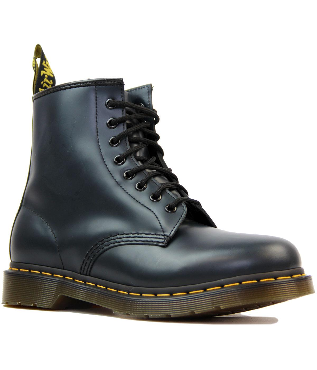 1460 DR MARTENS Retro Mod Smooth Navy Boots
