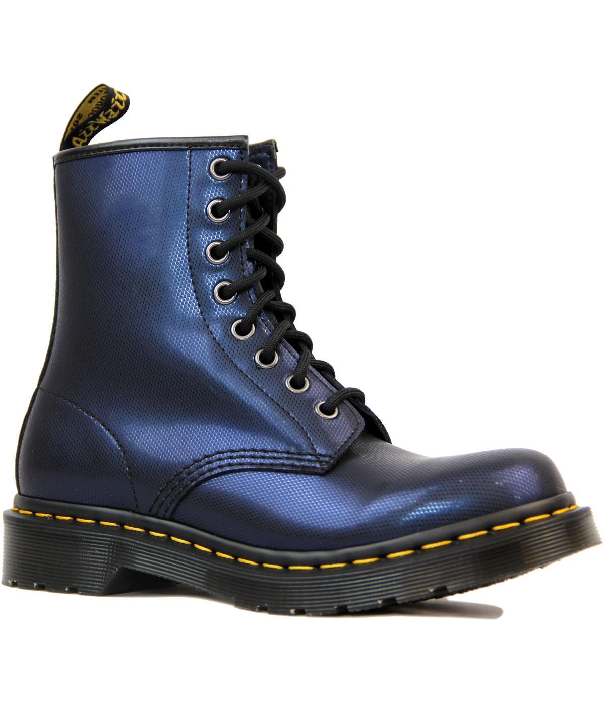 1460 DR MARTENS Retro Mod Two Tone Metallic Boots