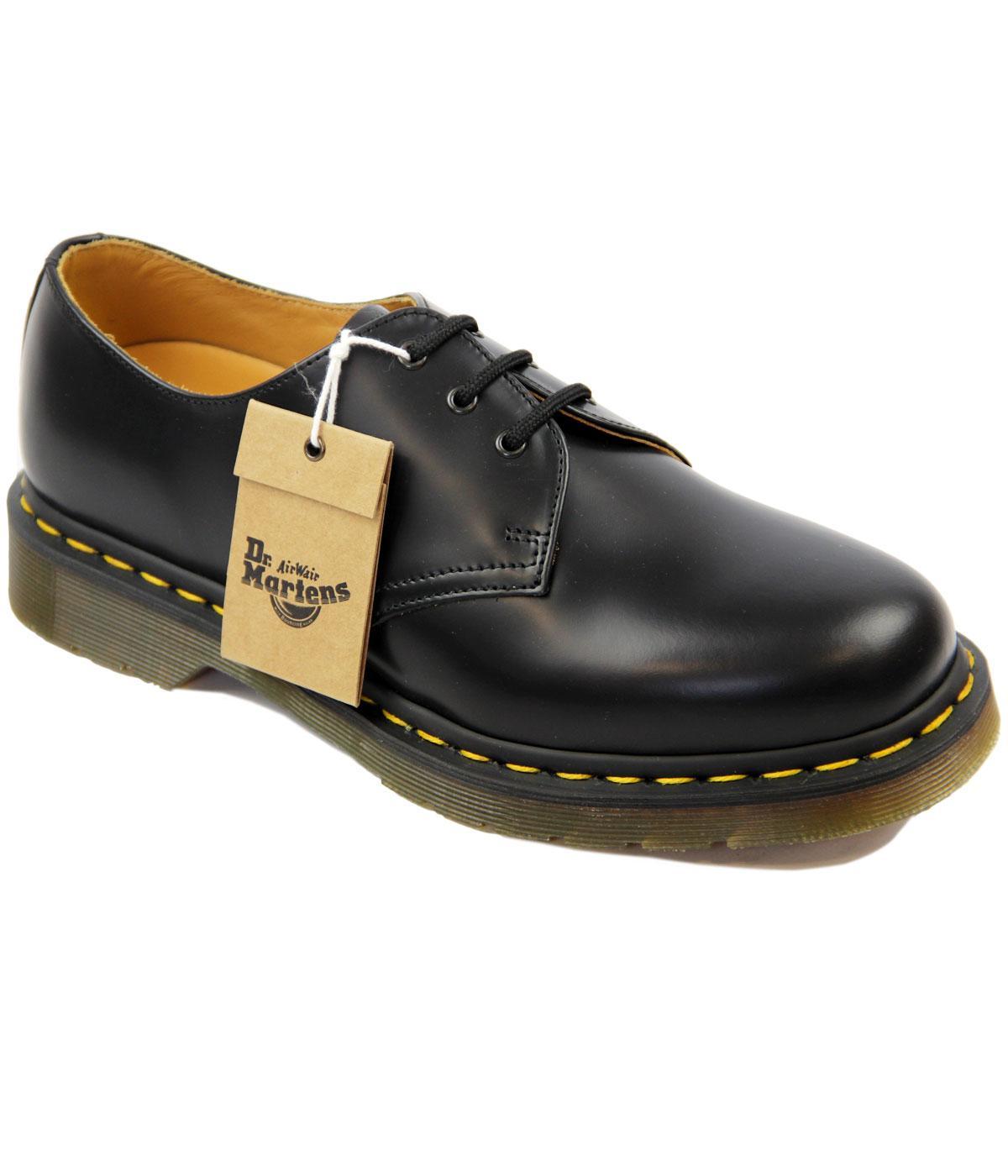 dr martens 1461 retro 60 s black leather lace up retro shoes