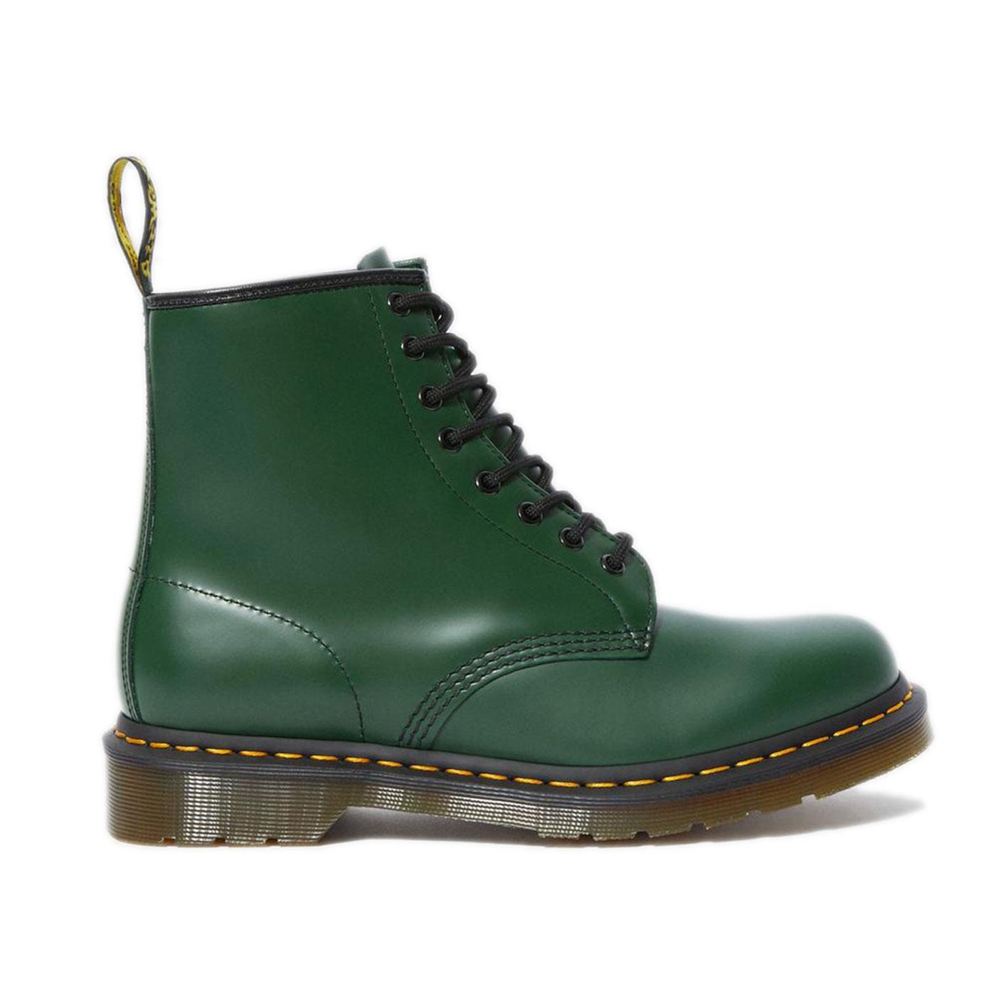 1460 Smooth DR MARTENS Women's Green Boots