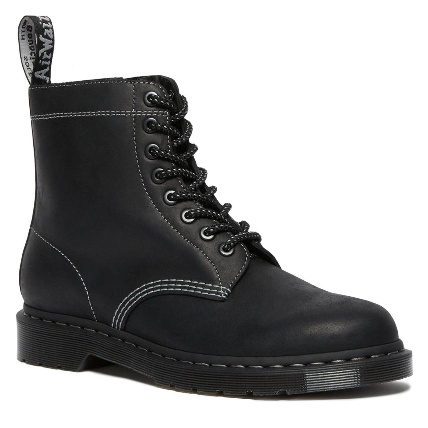 DR MARTENS 1460 Pascal Zipped Boots (Black)