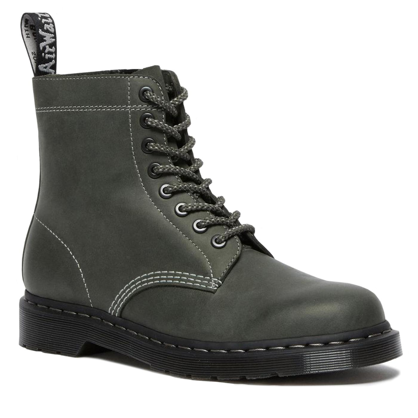 DR MARTENS 1460 Pascal Zipped Boots (Ivy Green)