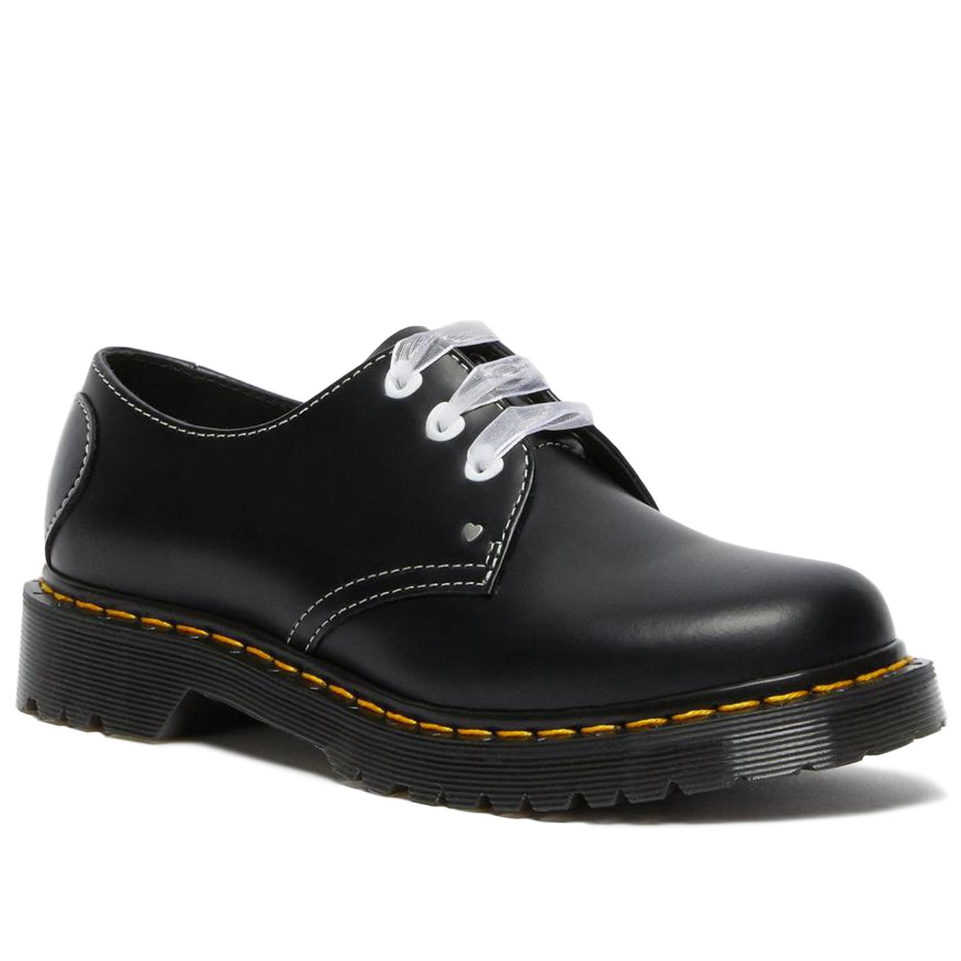 DR MARTENS 1461 Hearts Retro 70s Oxford Shoes (B)