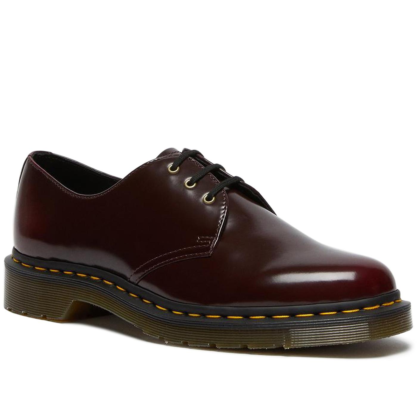 Vegan 1461 DR MARTENS Cherry Smooth Oxford Shoes