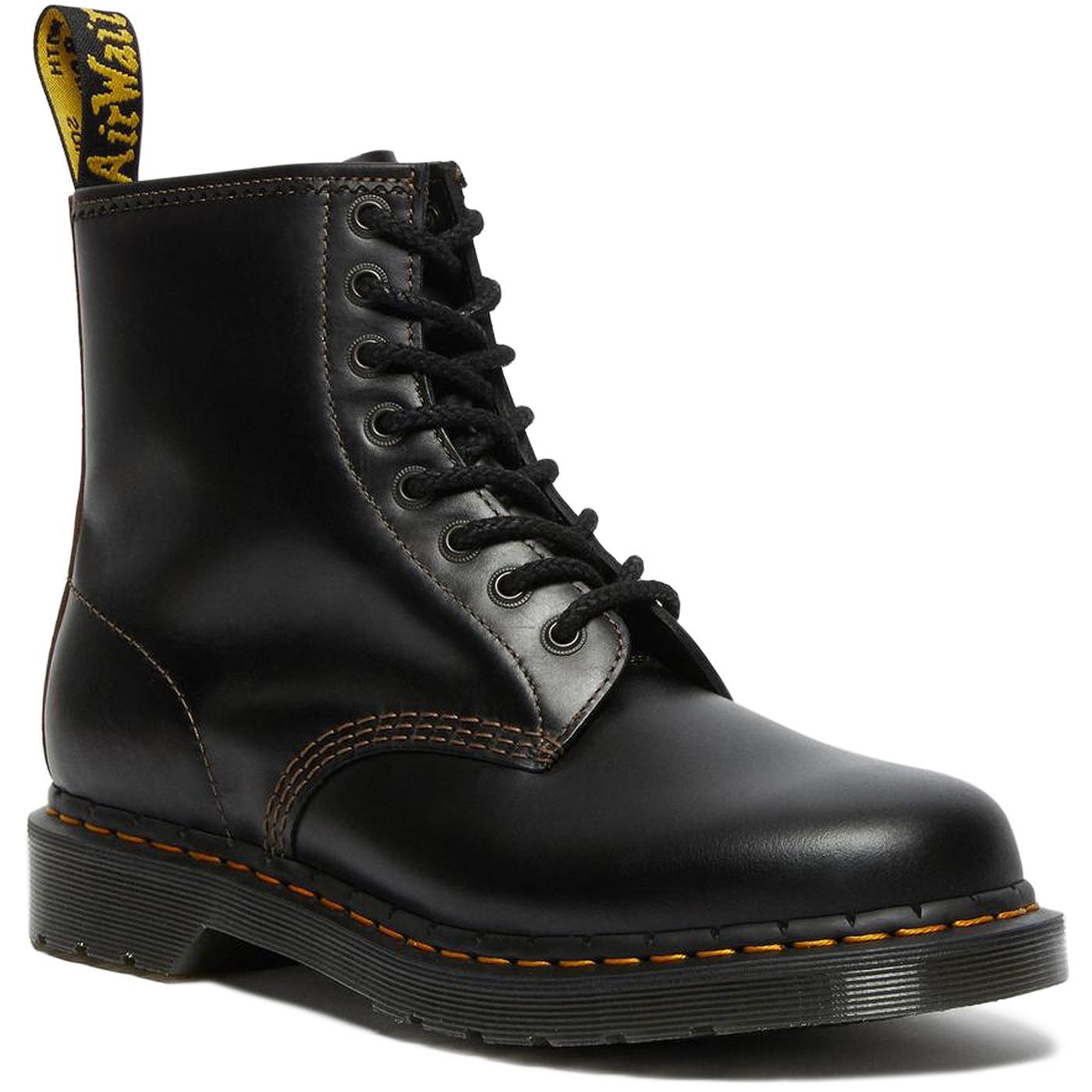1460 DR MARTENS Abruzzo WP Boots - Black/Brown