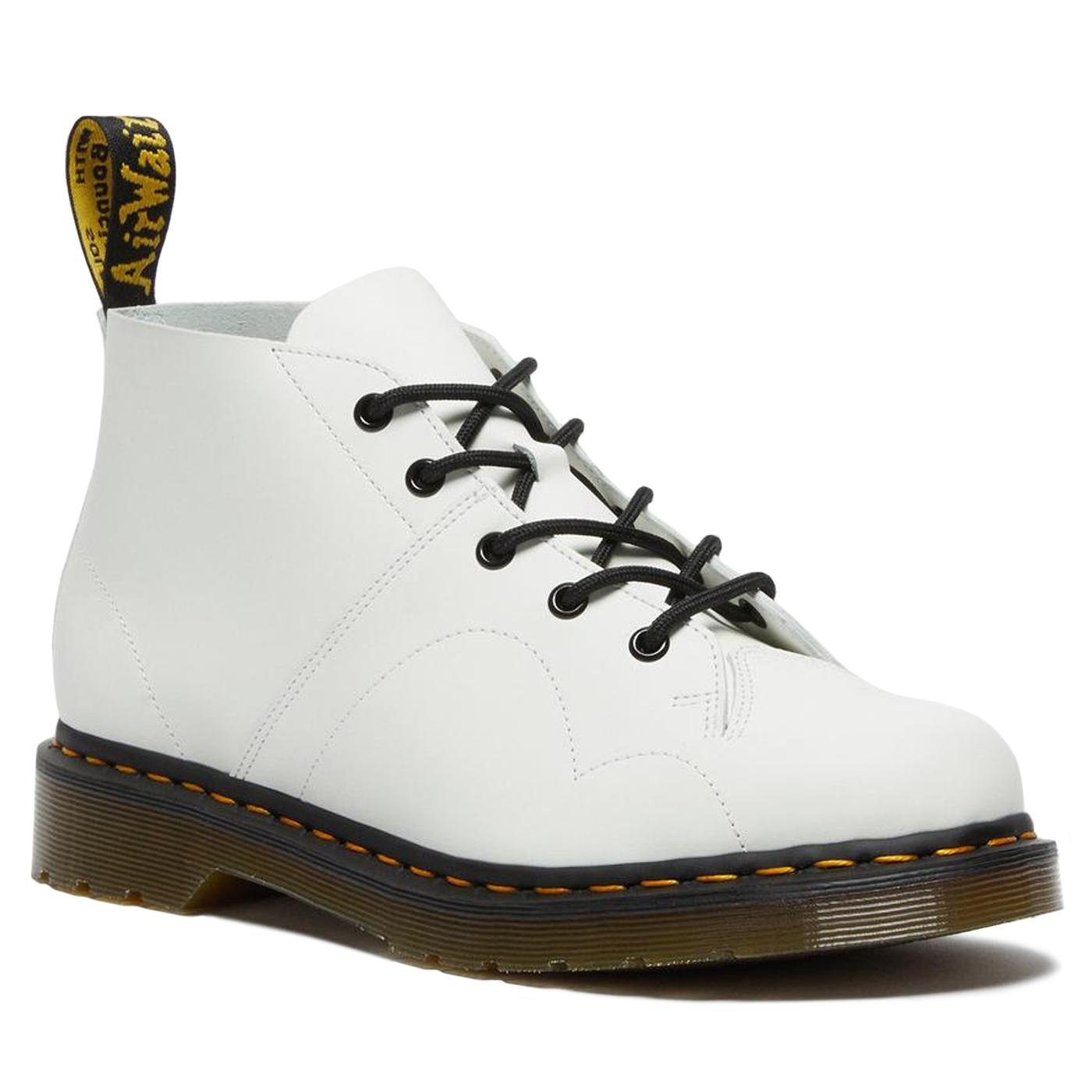 Church DR MARTENS Women's Retro Monkey Boots WHITE