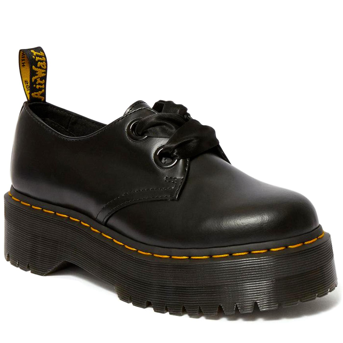 Holly DR MARTENS Women's Quad Platform Shoes
