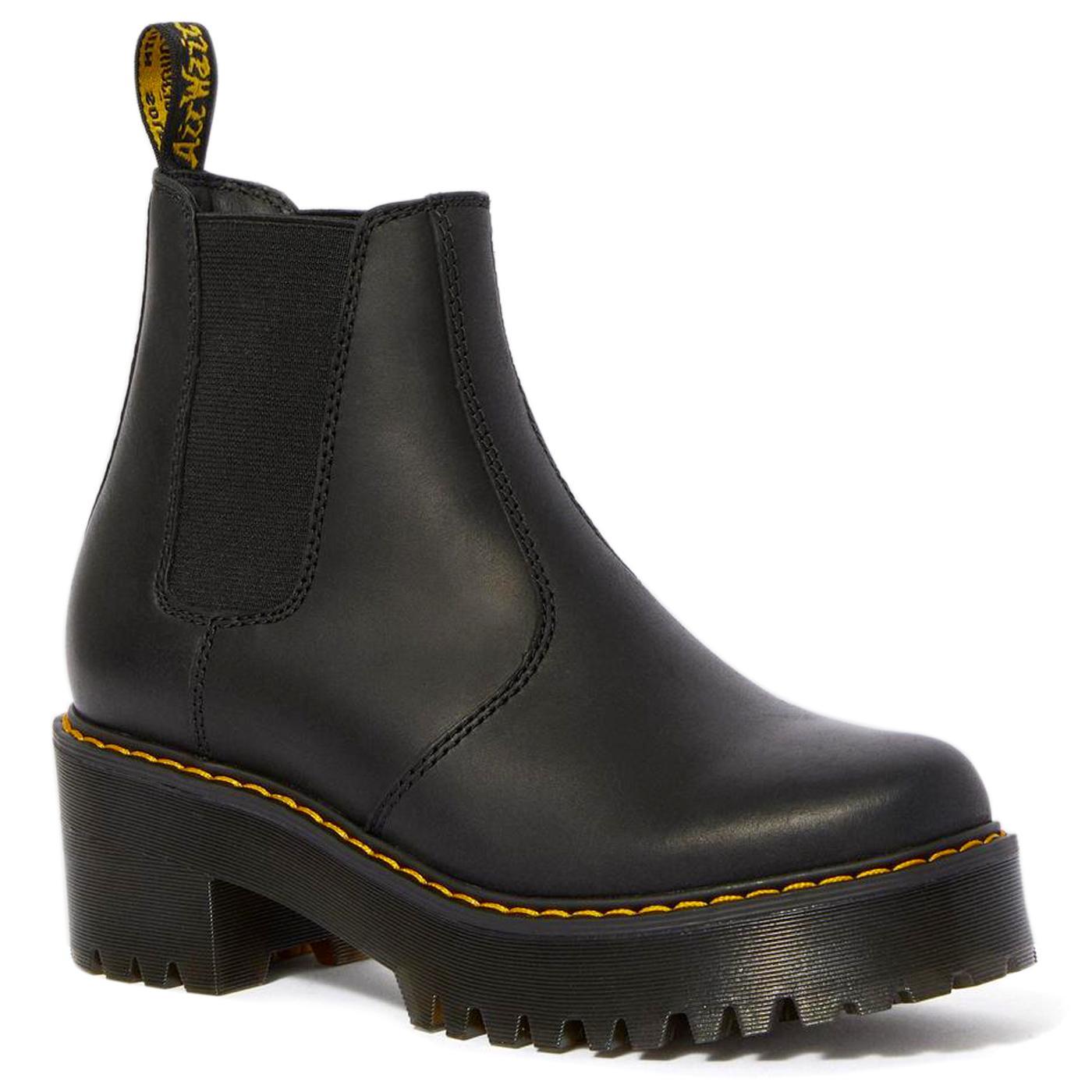 Rometty DR MARTENS Retro Platform Chelsea Boots