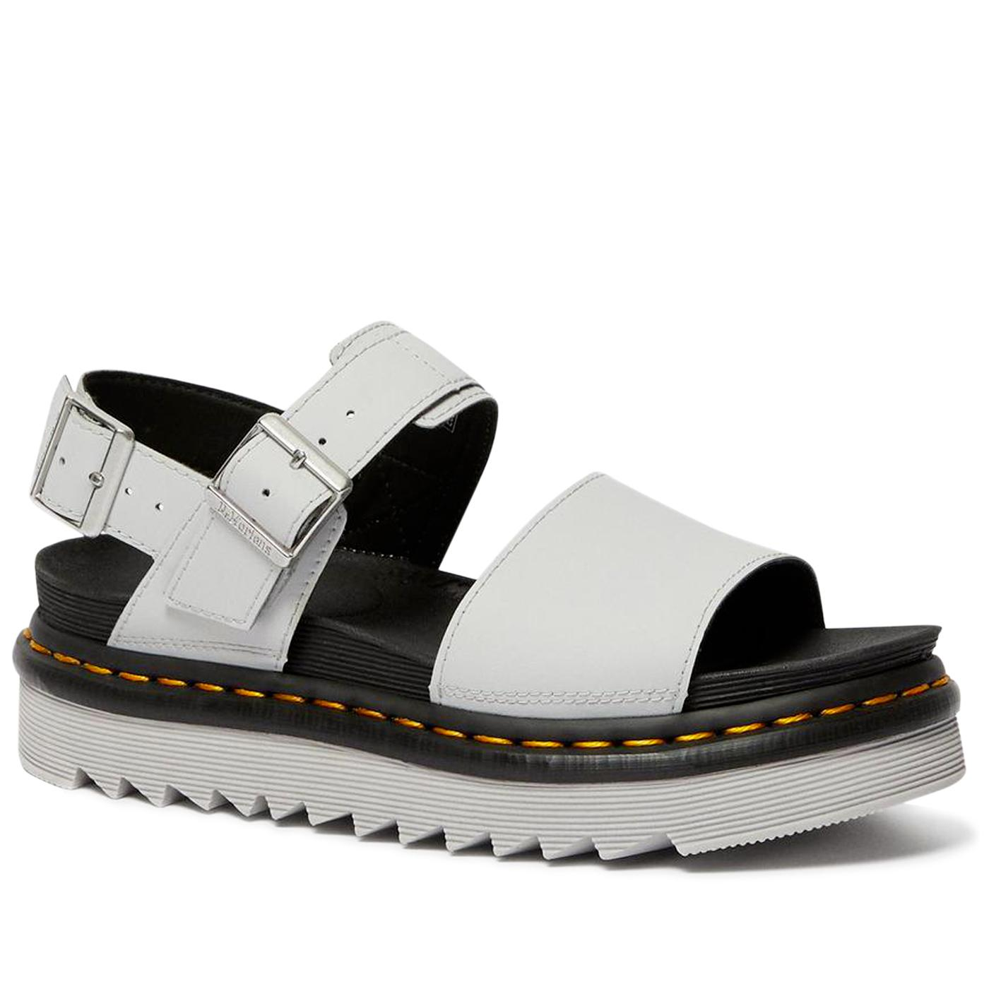 Voss DR MARTENS Womens Hydro Leather Sandals (LG)