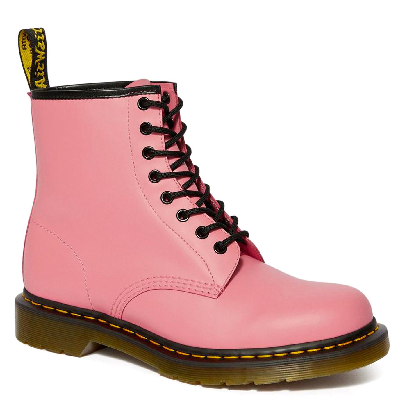 1460 DR MARTENS Retro Acid Pink Leather Ankle Boot