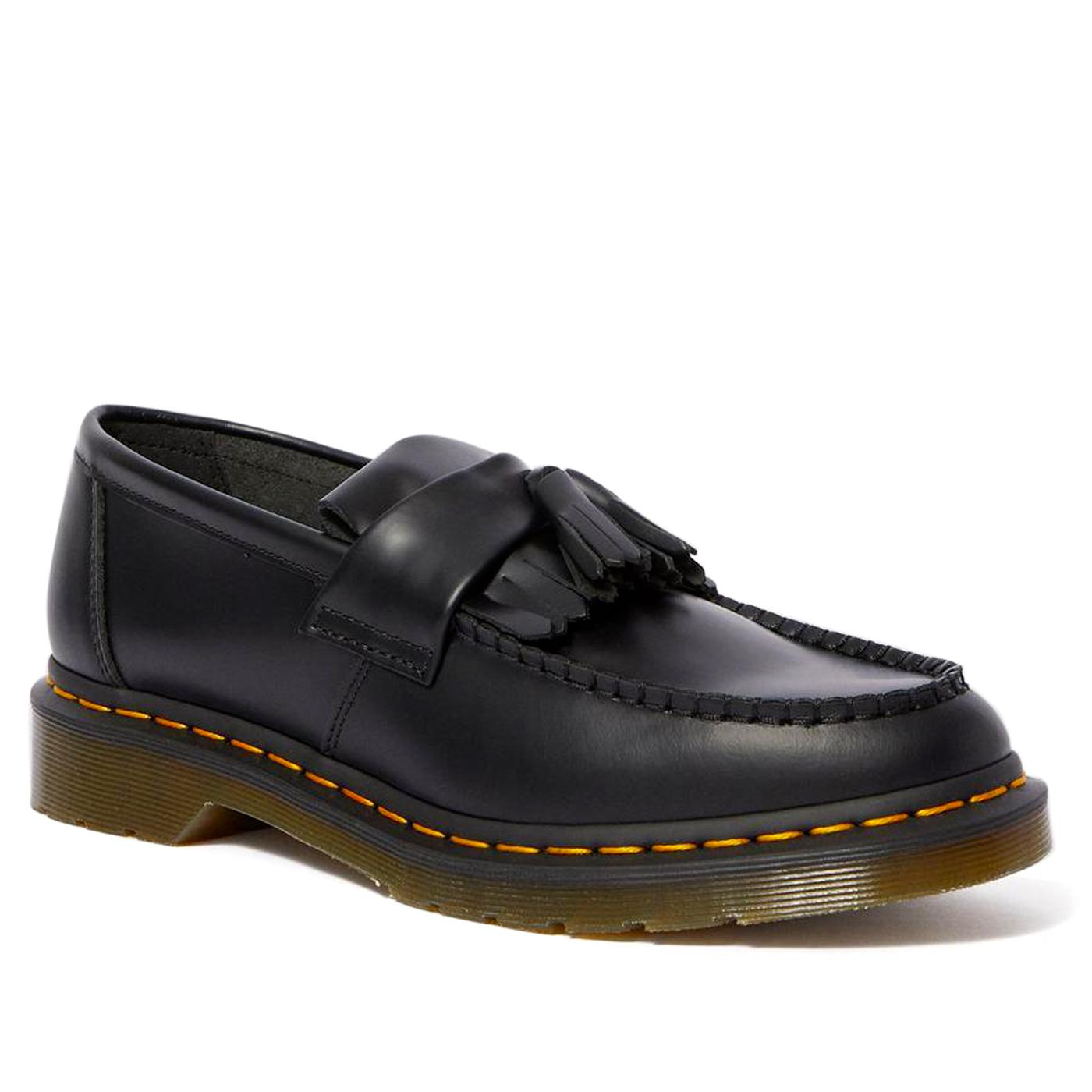 Adrian DR MARTENS Men's Leather Tassel Loafers