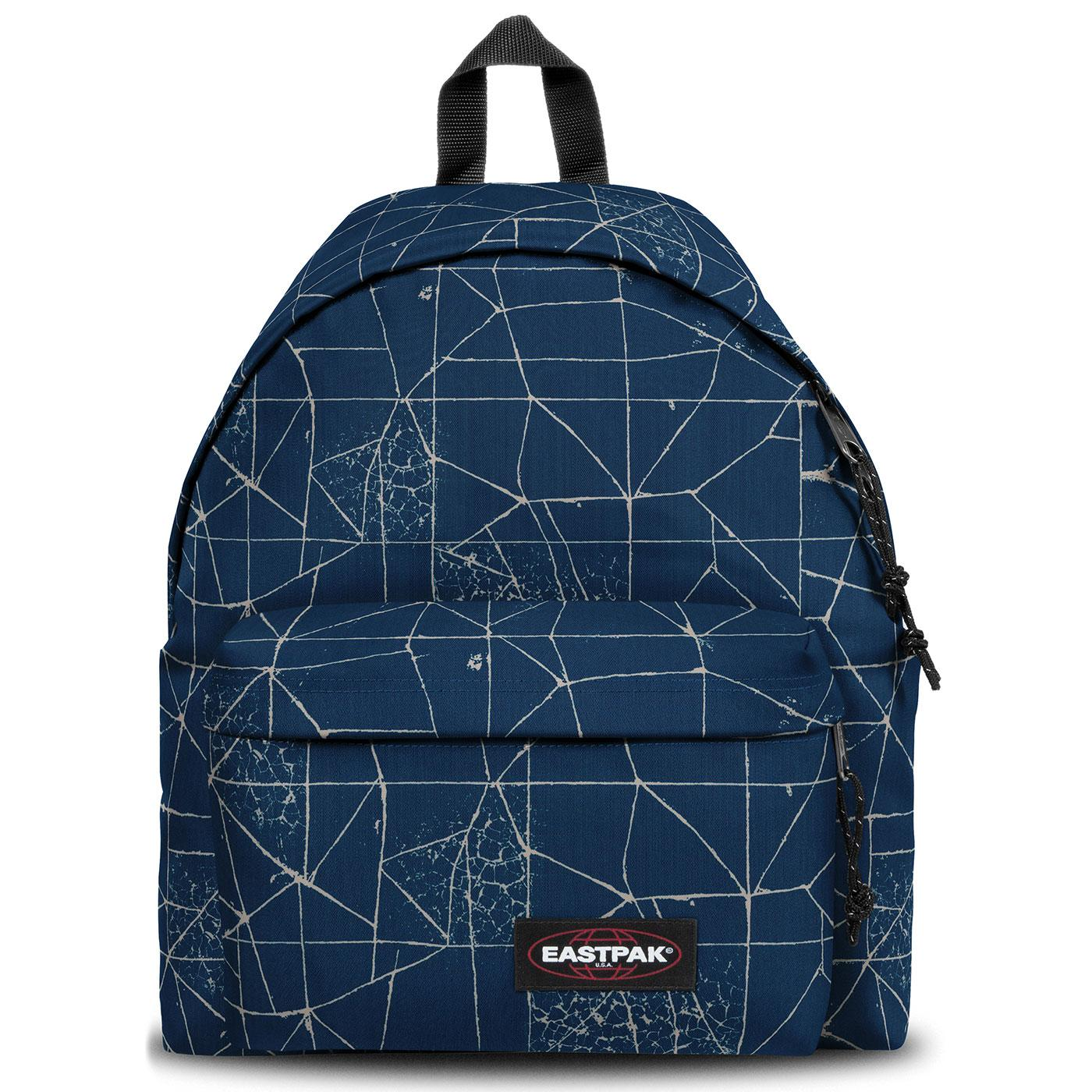 Padded Pak'r EASTPAK Retro Backpack - Cracked Blue