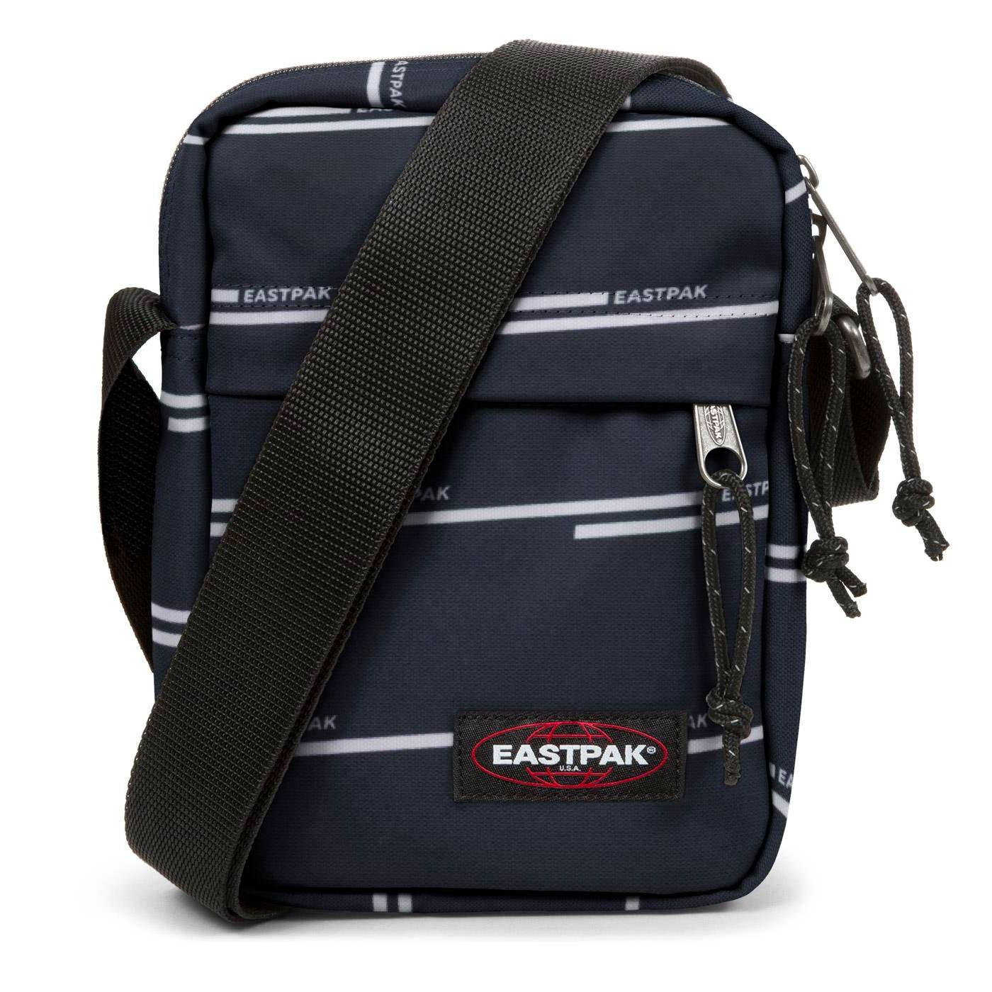 The One EASTPAK Retro Mini Pill Bag (Chatty Lines)