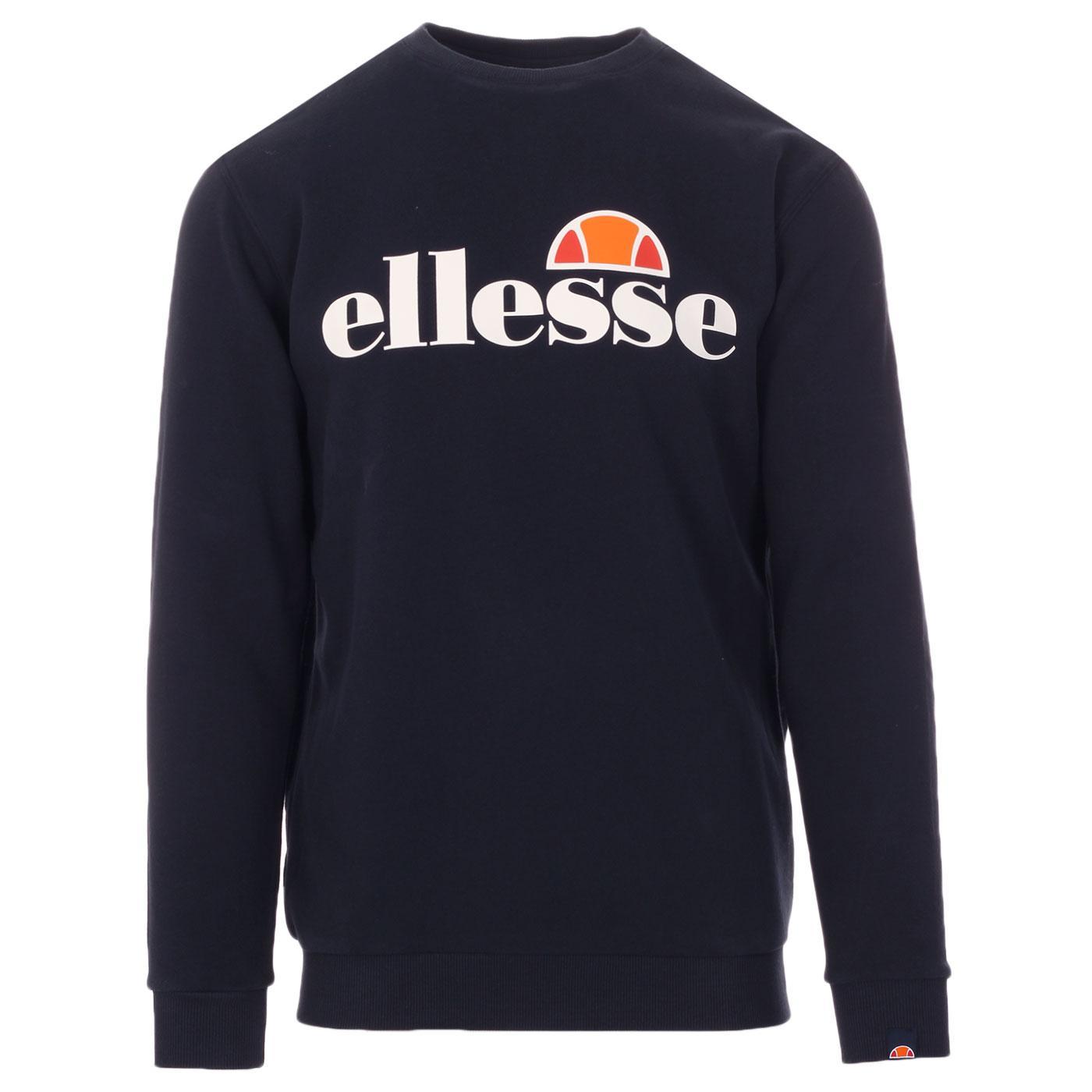Succiso ELLESSE Retro 80s Logo Sweatshirt (Navy)