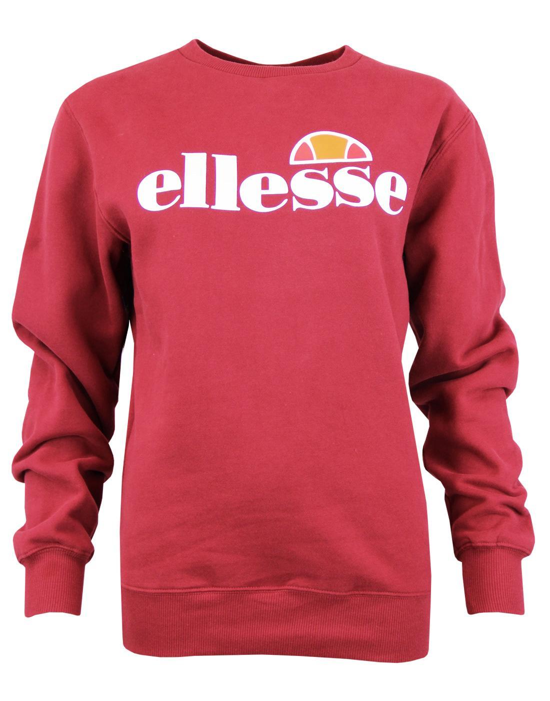 Agata ELLESSE Womens Retro 80s Crew Sweatshirt TR