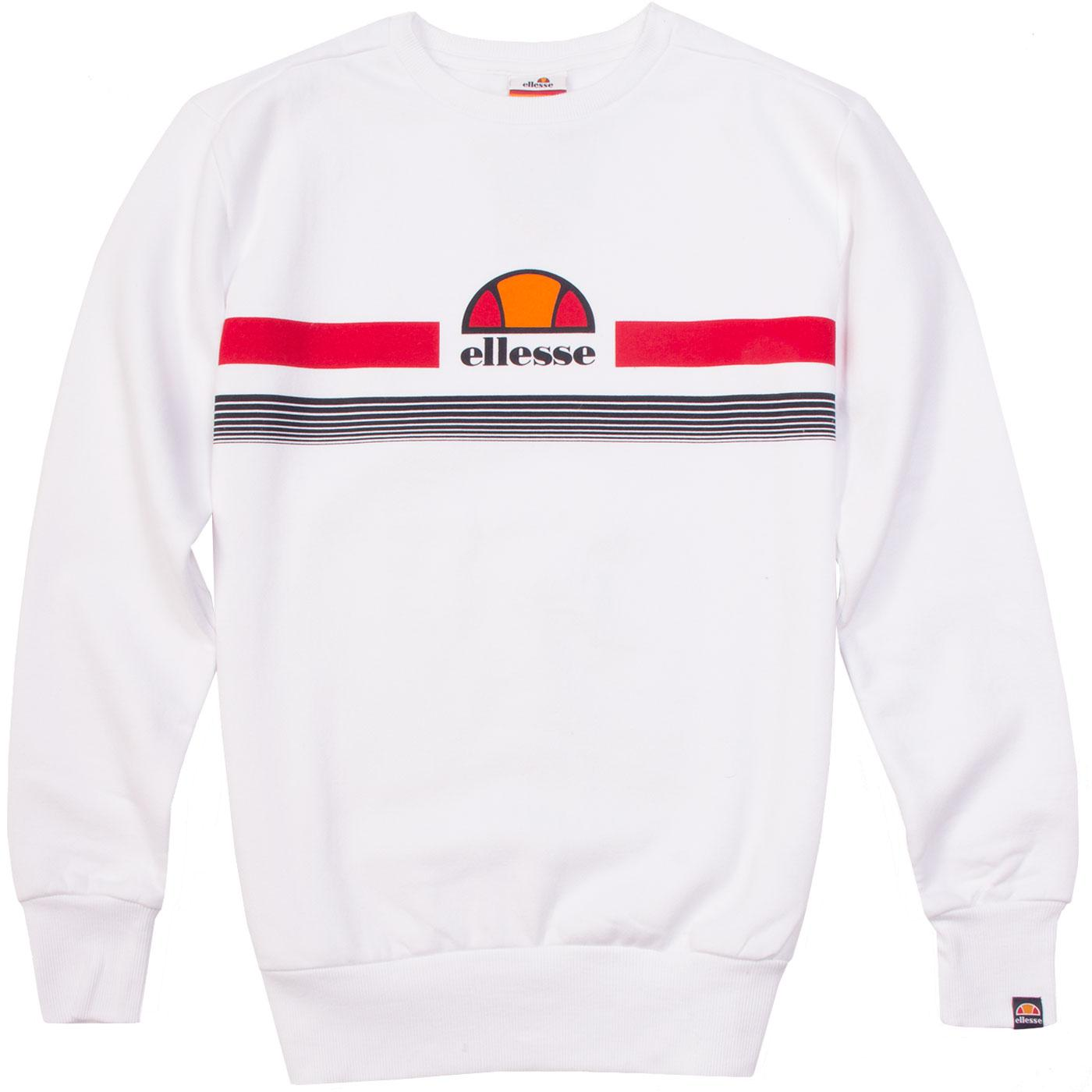 Albacino ELLESSE Retro Chest Stripe Sweatshirt W