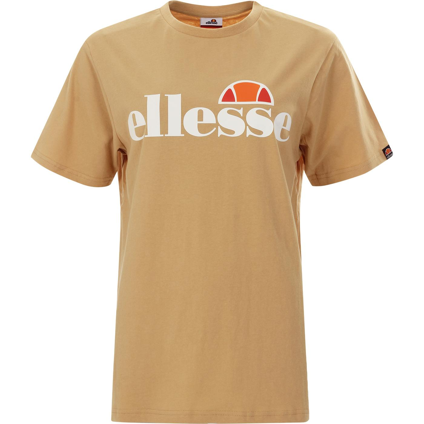 Albany ELLESSE Retro 90s Logo T-Shirt (Brown)