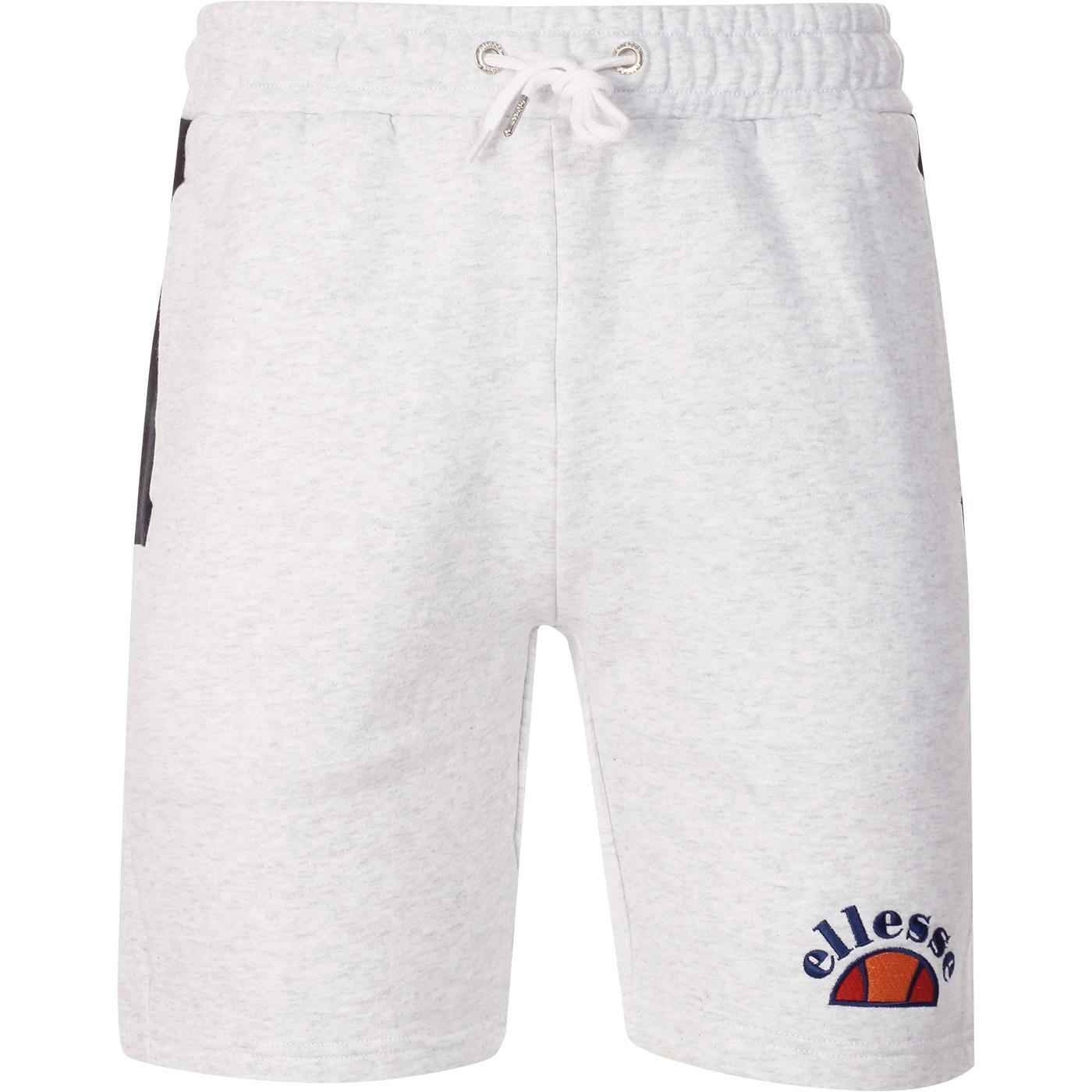 Alfonsi ELLESSE Men's Retro Fleece Shorts White
