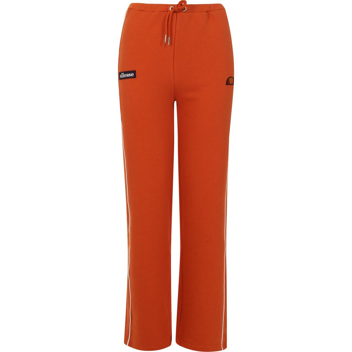 Amiti ELLESSE Womens Retro Jog Pants (Dark Orange)