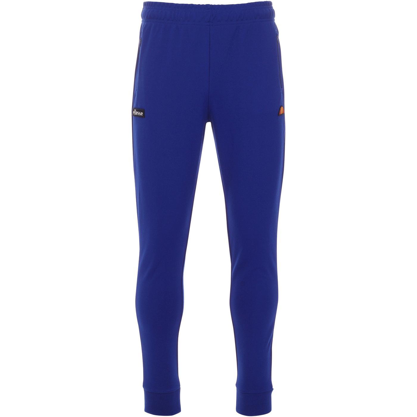 Bertoni ELLESSE Mens Retro Jogger Track Pants BLUE