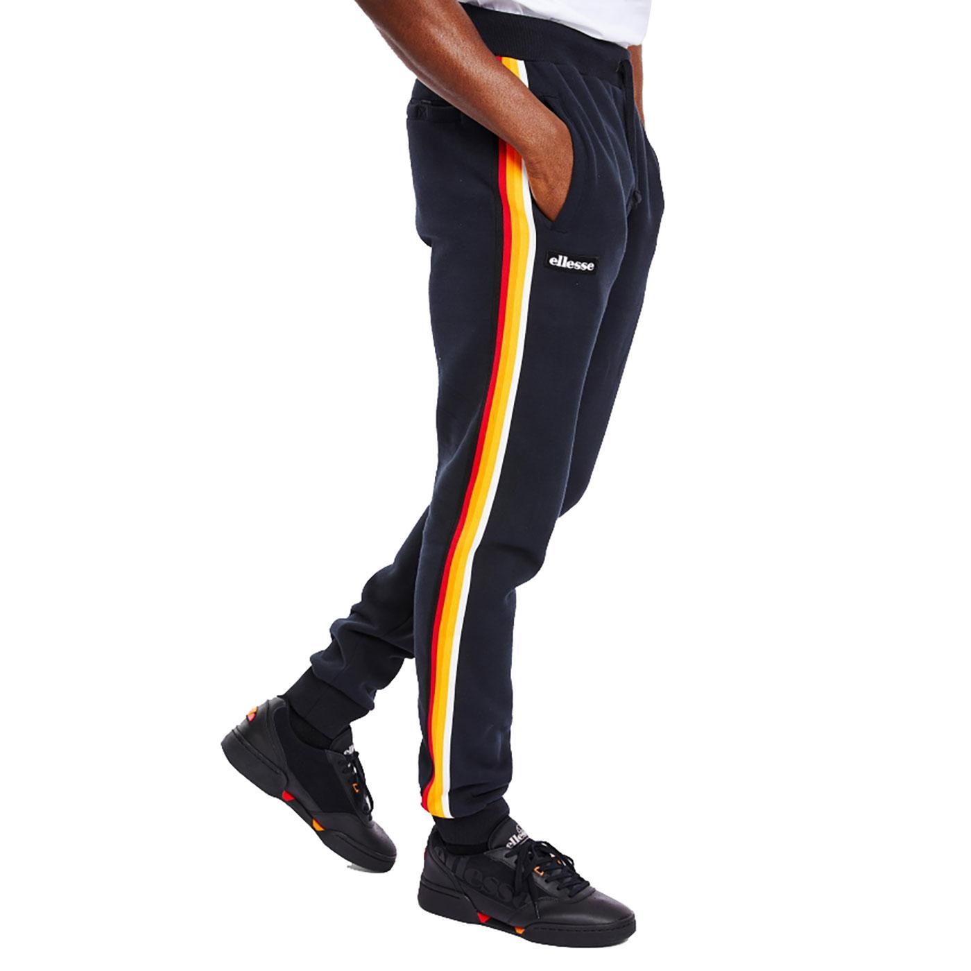 Birra ELLESSE Mens Retro Sports Stripe Jog Pants N