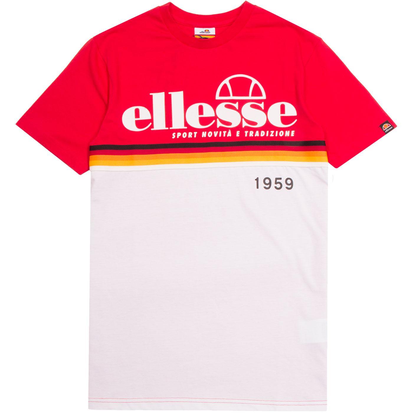Brescia ELLESSE Retro Indie Sports Heritage Tee R