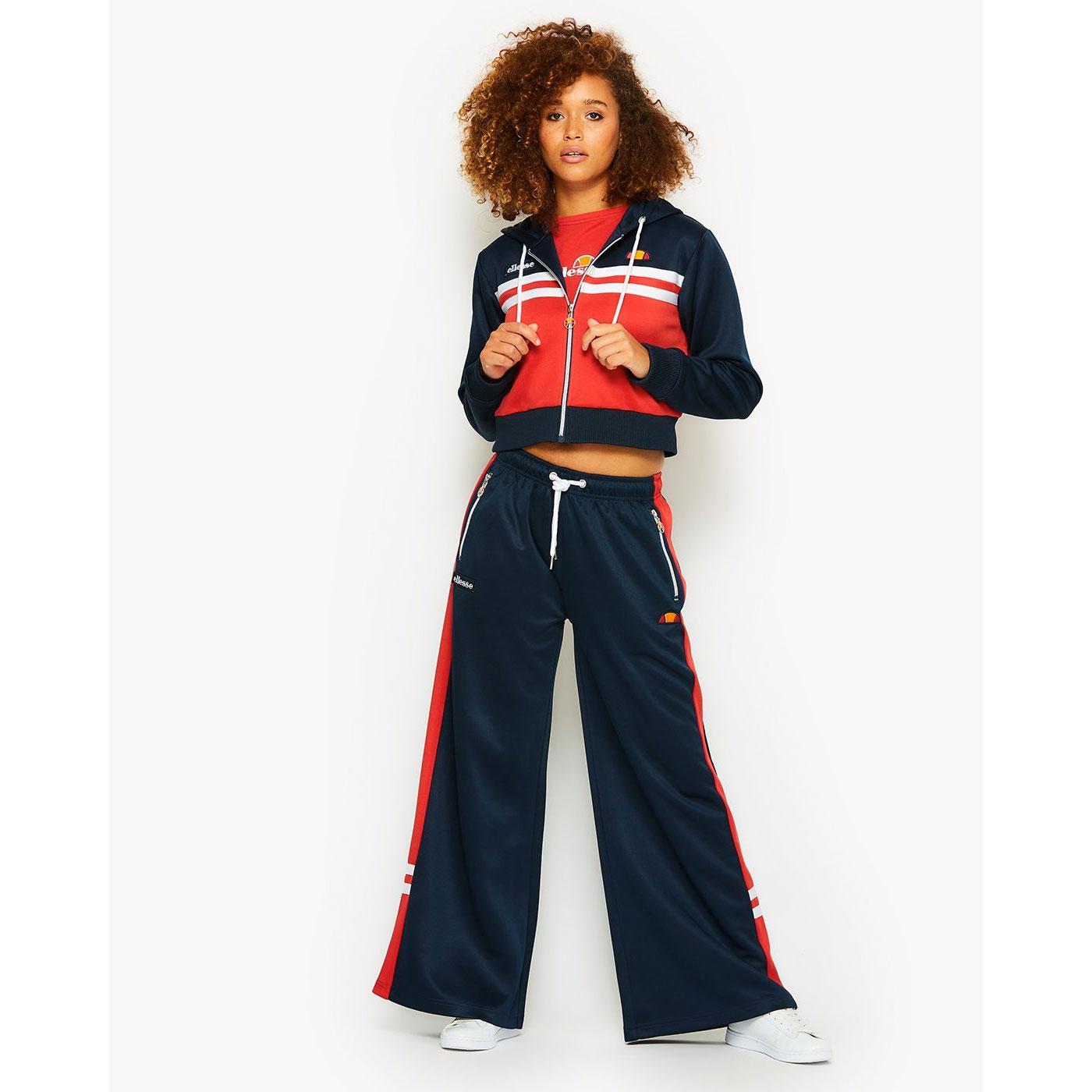 Ellesse Women's Matching Crop Hood & Track Pants