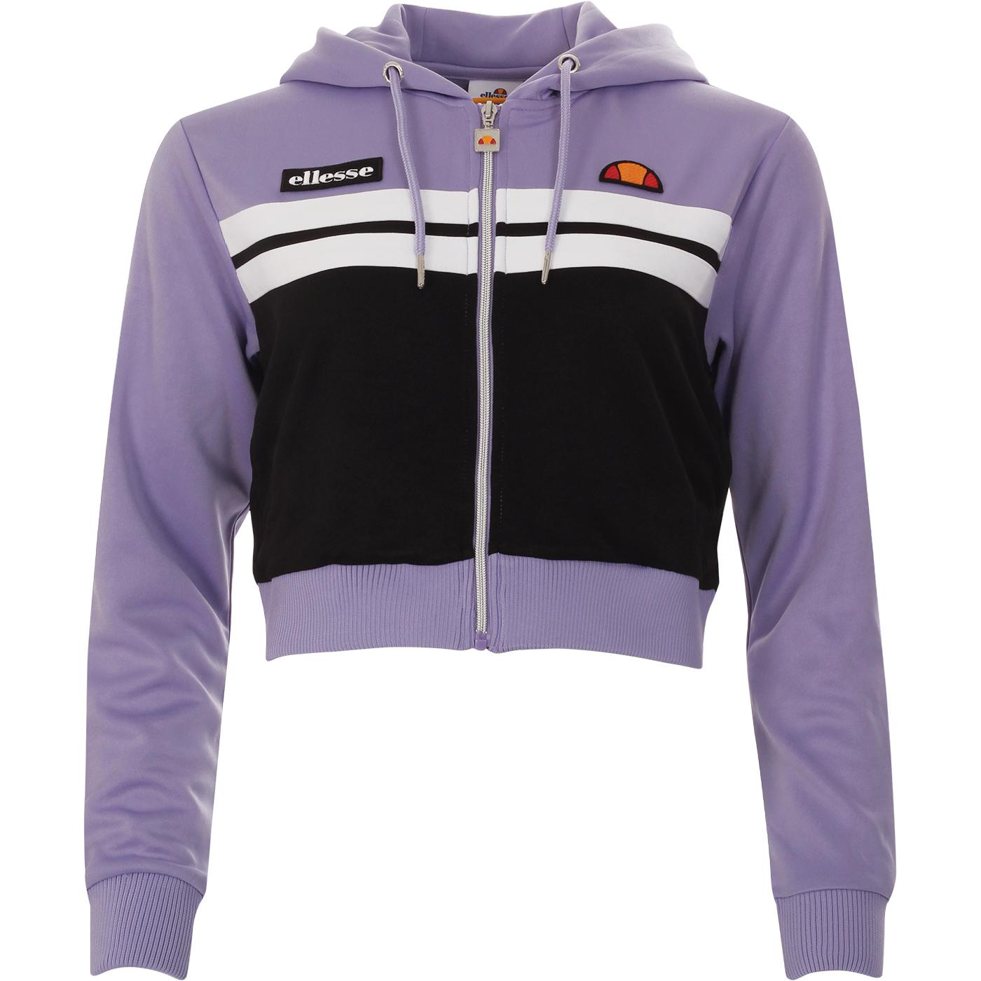 Bulito ELLESSE Women's Retro Crop Hooded Track Top