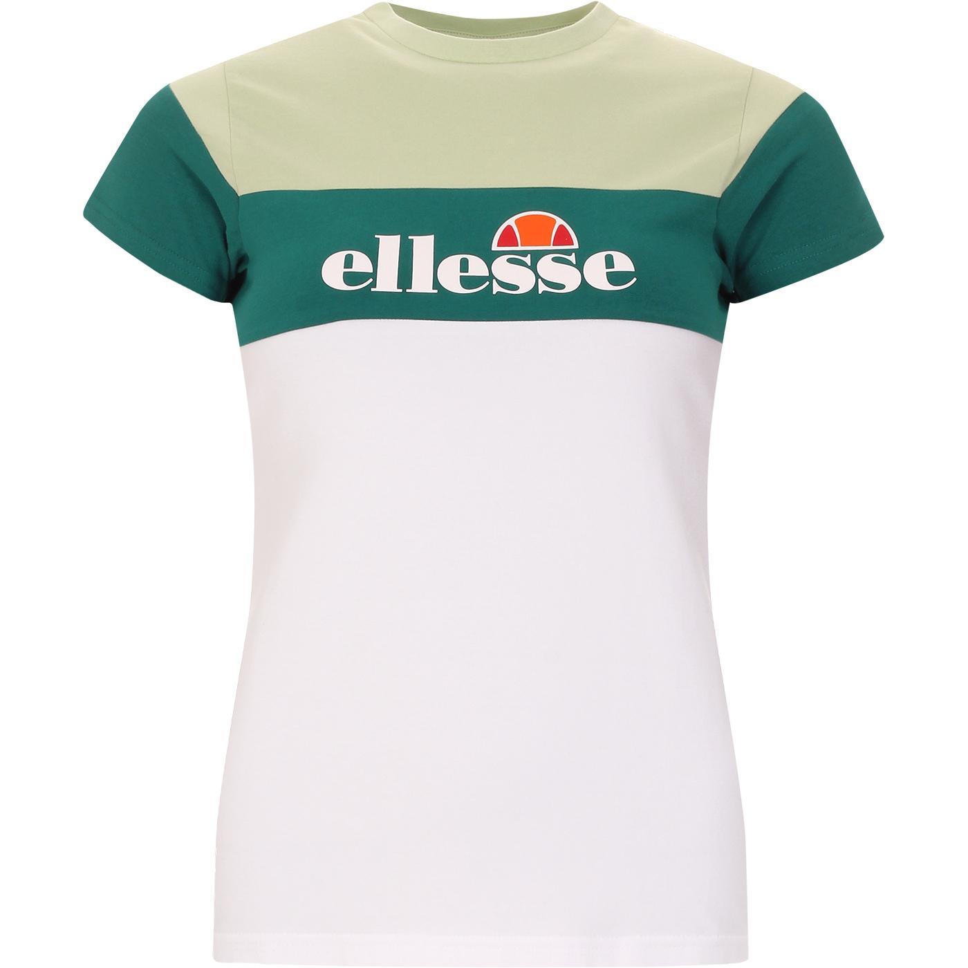 Cake ELLESSE Retro 90s Colour Block Slim Tee (W/G)
