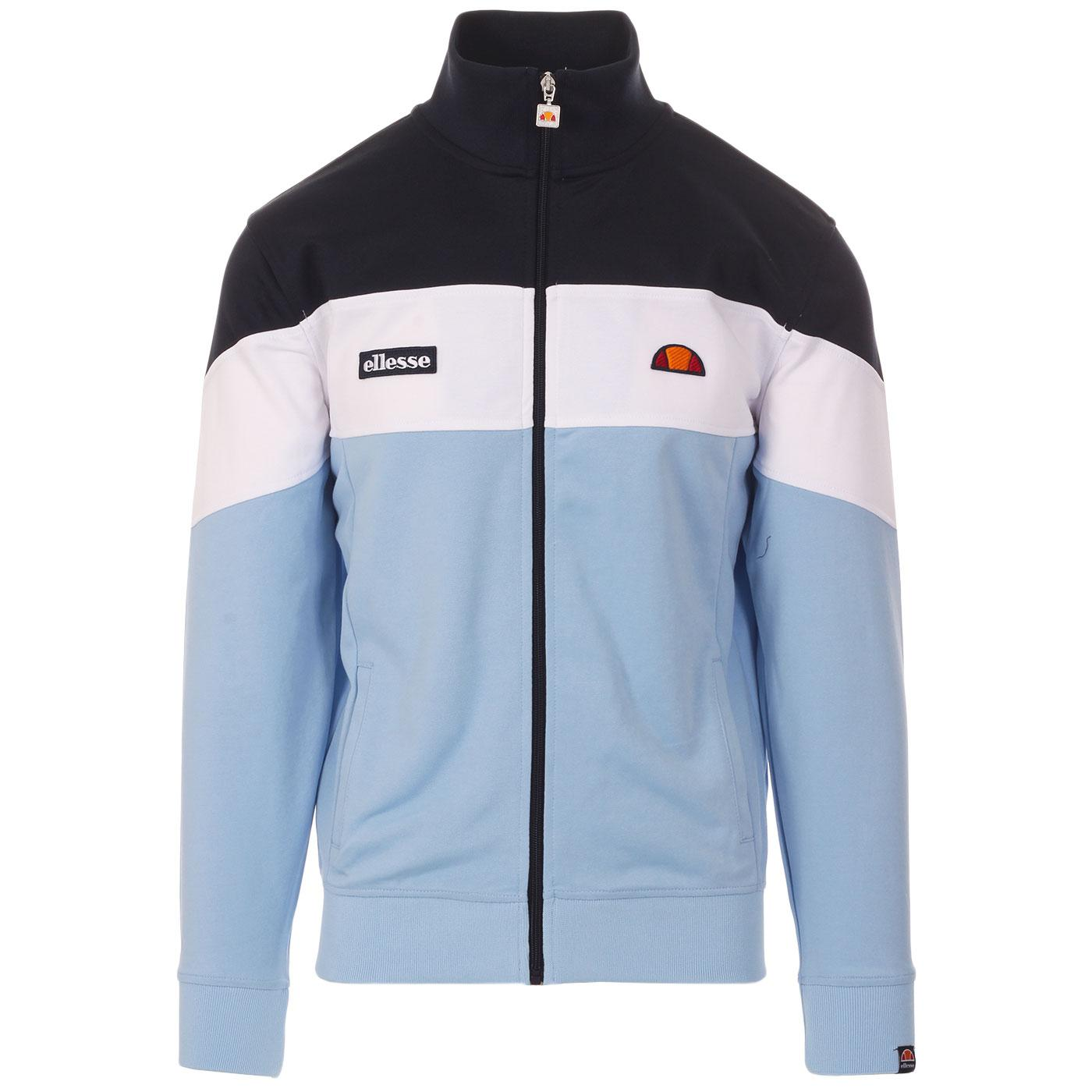 Caprini ELLESSE Retro Colour Block Track Top (LB)