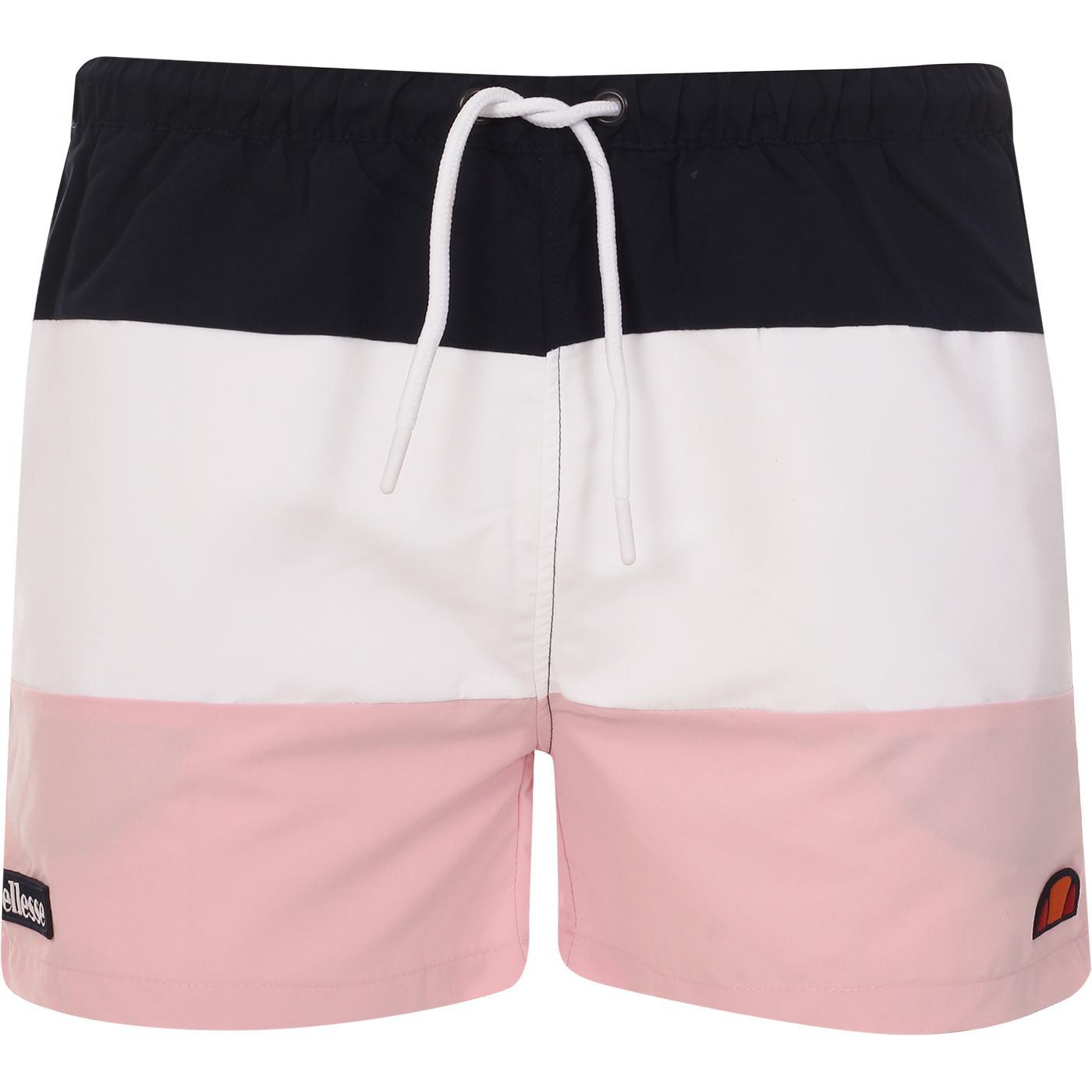 Cielo ELLESSE Retro Colour Block Swim Shorts (N/P)