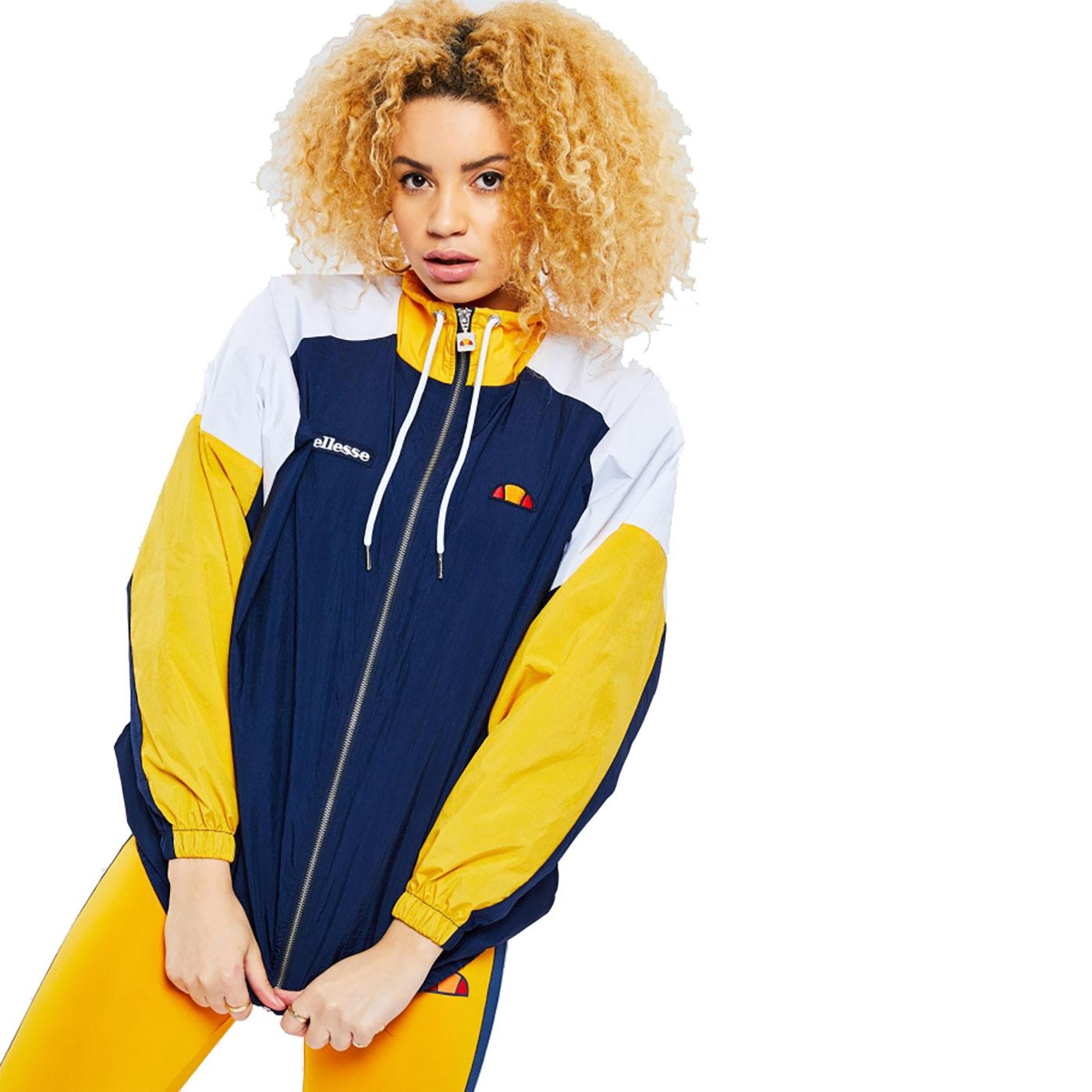 Delanna ELLESSE Women's 80's Panel Track Jacket N