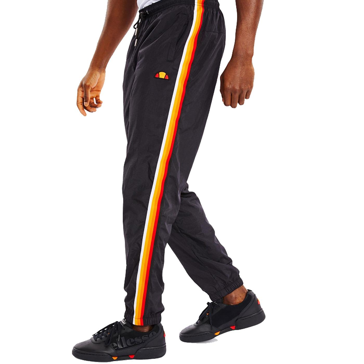 Domo ELLESSE Retro 80s Sports Stripe Track Pants B