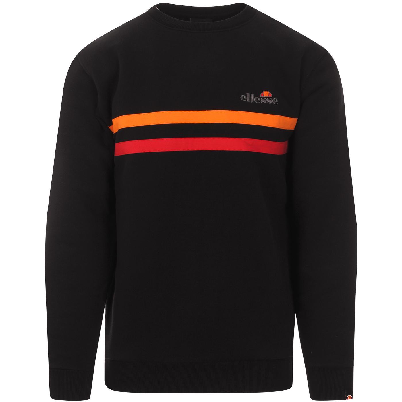 Erminion ELLESSE Retro 90s Stripe Sweatshirt (BRG)