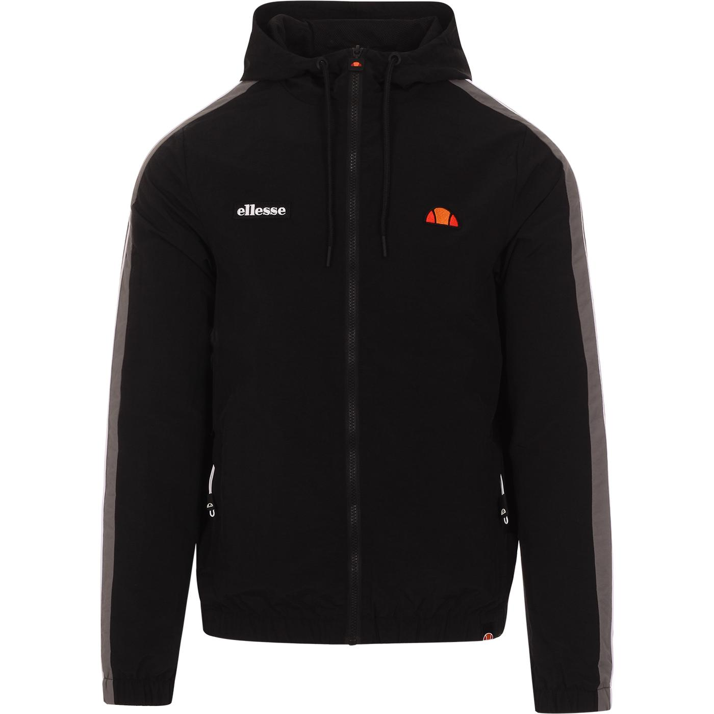 Fairchild ELLESSE Hooded Windbreaker Track Jacket