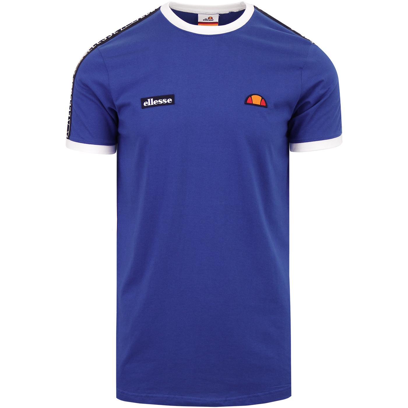Fede ELLESSE Retro Casuals Tape Sleeve T-Shirt Bl