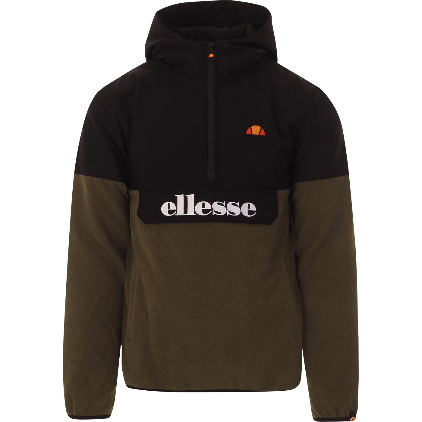 Freccia ELLESSE Retro Fleece Panel OH Jacket (B/K)